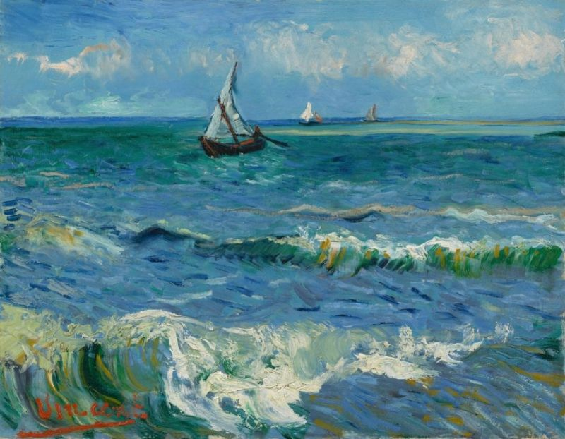 2. Seascape near Les Saintes-Maries-de-la-Mer